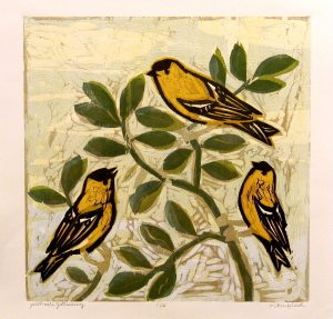 Goldfinch Gathering, 3/20