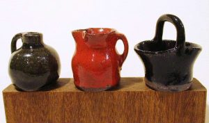 Wayne Hewell, Mini Clay Pitchers
