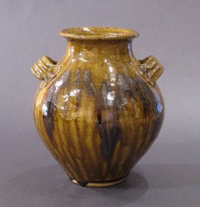 2 Handled Chocolate Vase