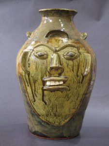 Walter Fleming, Blue Eyed Face Vase