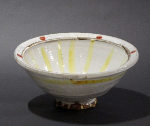 Shawn Ireland, Majolica Glazed Sunburst Bowl
