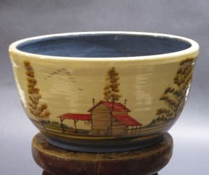 Rosa and Winton Eugene, Red Roof Tobacco Barn Bowl