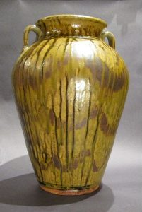 Kim Ellington, Flat Glazed vase