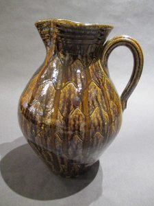 Kim Ellington, Generous Deep Mahogany Pitcher