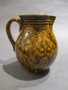 Ripple Decorated Pitcher