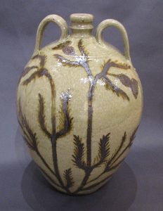 Two Handled Thistle Jug