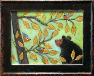 Bear and Nuthatches