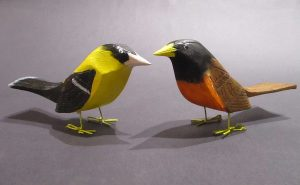 Ivy Billiot, American Goldfinch, American Robin