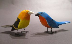 Ivy Billiot, Bluebird, Western Tanager
