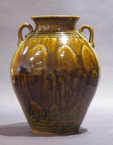 Gorgeous Golden Brown Vase