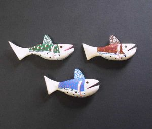 Little Fishy Ornaments
