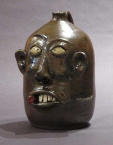 Wayne Hewell, Two Gallon Albany Slip Stogie Face Jug