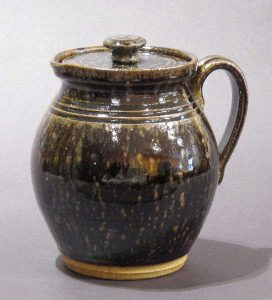 A Drizzle of Iron Lidded Jar