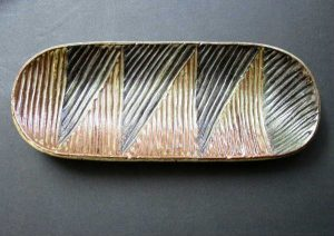 Oval Carved Tray