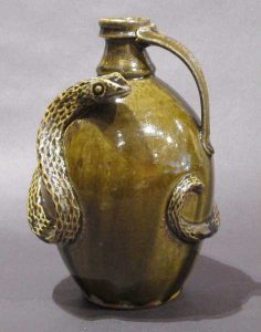 Ben J North, Curly Tailed Snake Jug