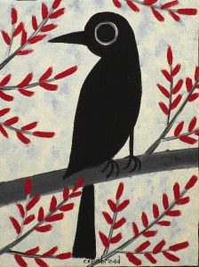 Crow in the Maples