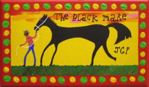 Jim Gary Phillips, The Black Mare, SOLD